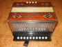 Hohner burl button accordion C (128)